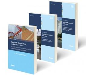 Baulicher Brandschutz im Bestand – Band 1, 2 u. 3