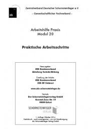 ZDS AH P Modul 20 - Praktische Arbeitsschritte