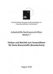 ZDS AH RV Modul 7 – Einbau und Betrieb von Feuerstätten für feste Brennstoffe