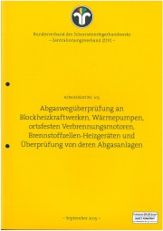 ZIV AB 105 - Abgaswegüberprüfung