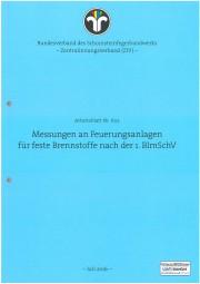 ZIV AB 602 - Messung an Feuerungsanlagen für feste Brennstoffe nach der 1.BlmSchV